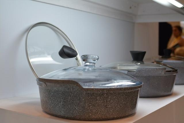 Новая серия посуды c каменным